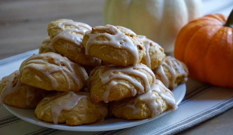 Pumpkin Spice Ricotta Cookies