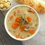 Creamy Turkey Wild Rice Soup