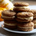 Pumpkin Creme Cookie Sandwiches