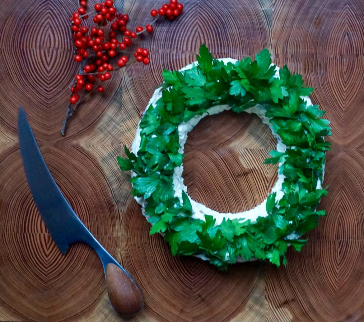 Wreath Cheese Spread
