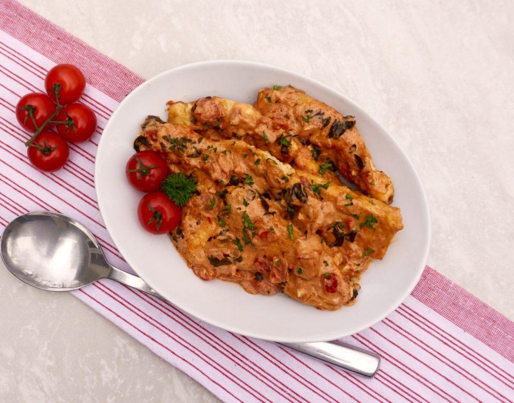 Chicken Tomato Cream Sauce