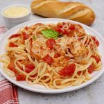 Shrimp Tomato Wine Sauce