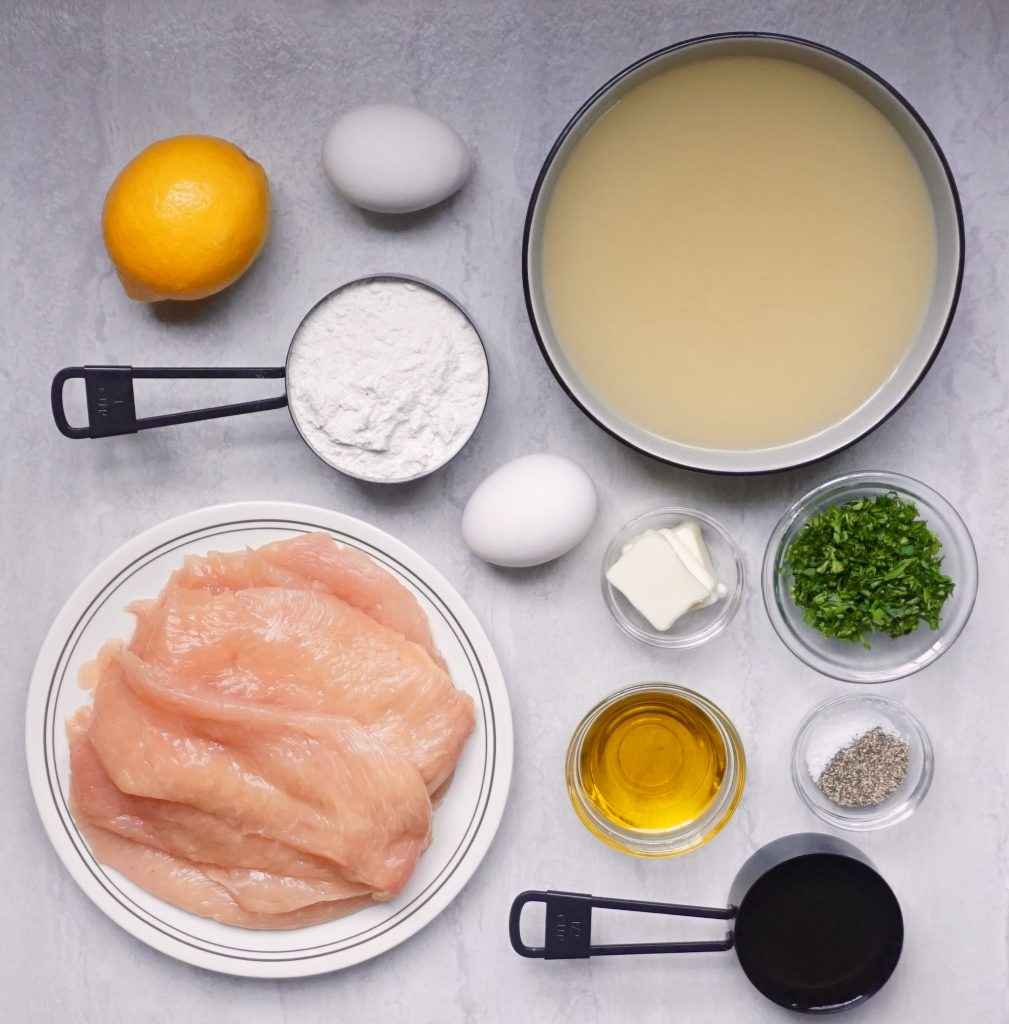 Chicken Francese ingredients