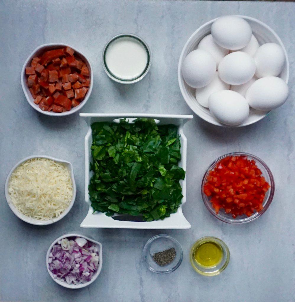 Chorizo Frittata Ingredients