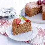 Strawberry Olive Oil Cake
