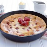 Strawberry Ricotta Dutch Baby