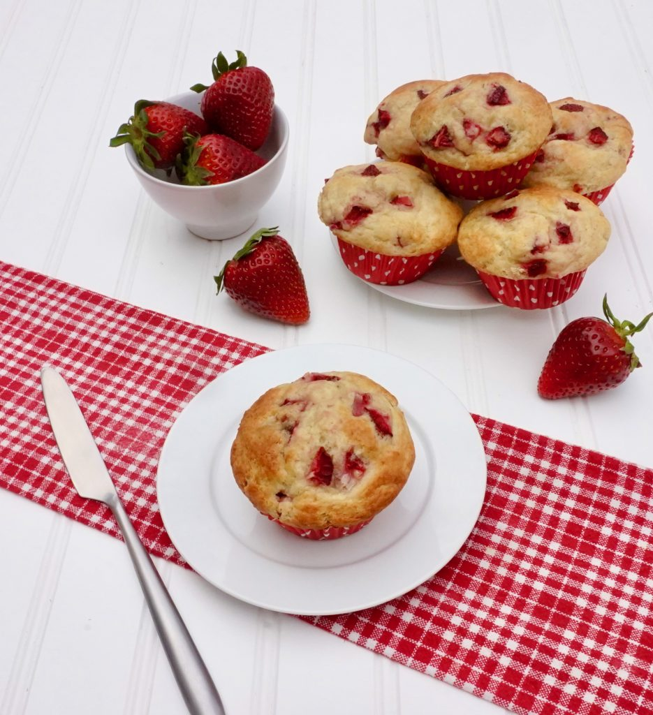 Strawberry Banana Muffin