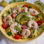 Shrimp Corn and Avocado Salad