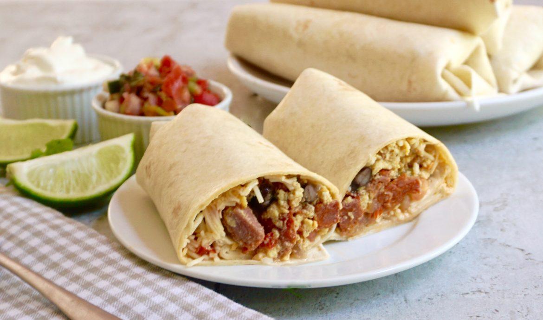 Chorizo Breakfast Burrito
