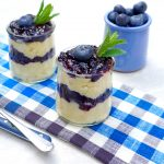 Blueberry Custard Parfait