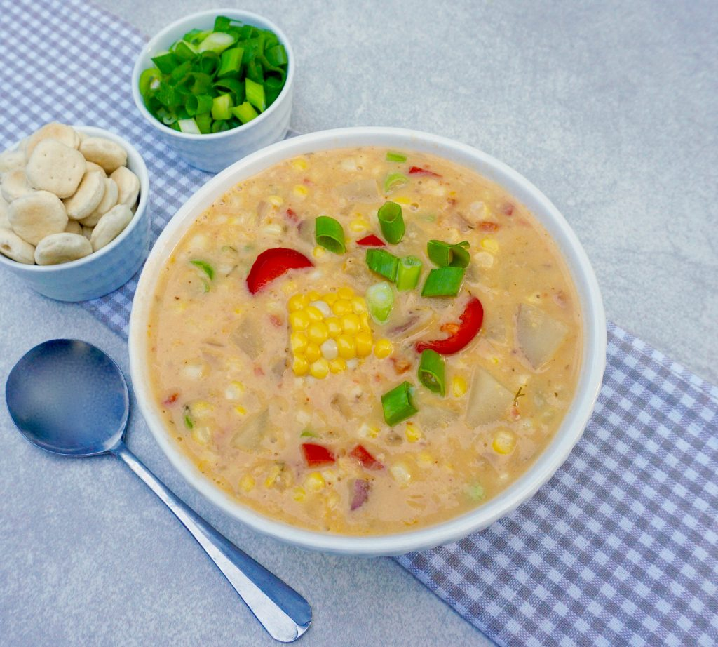 Red Pepper Corn Chowder