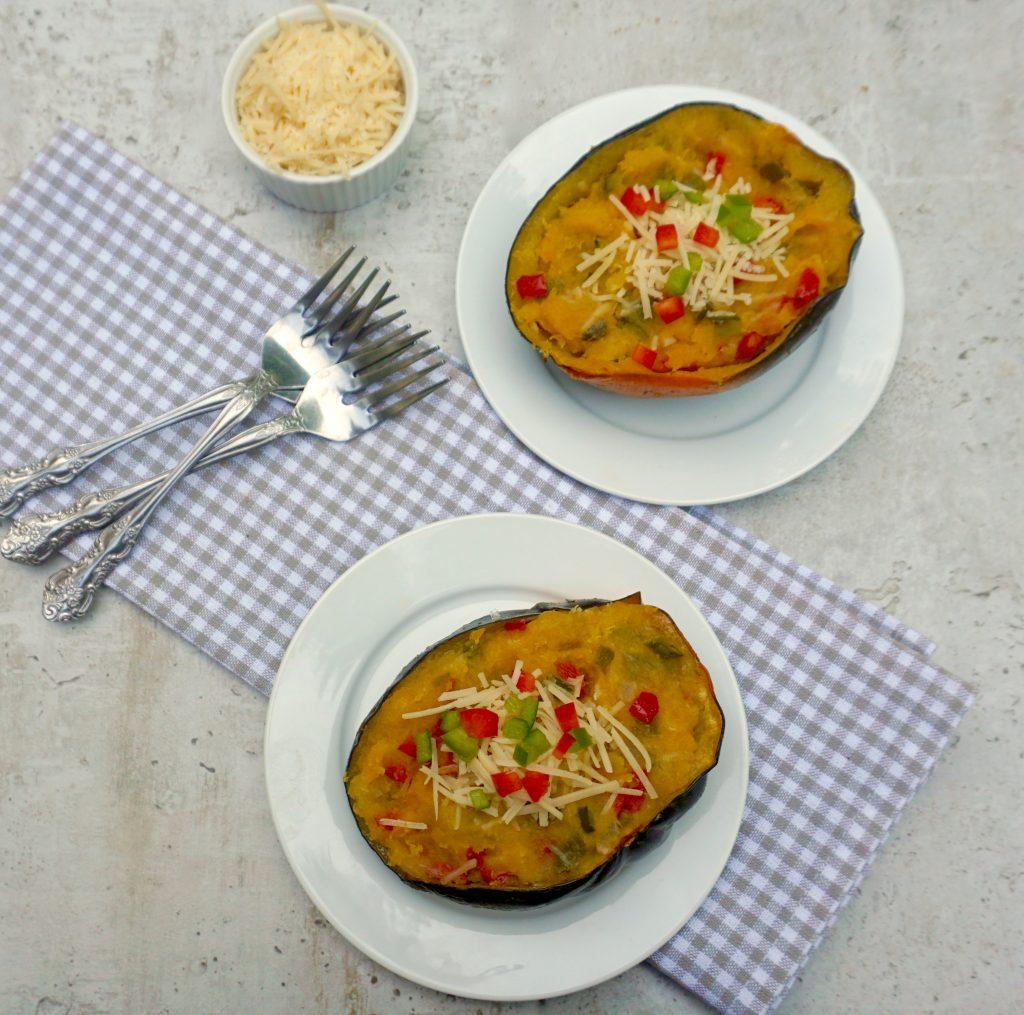 Twice Baked Acorn Squash
