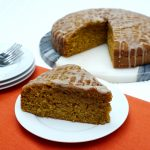 Pumpkin Olive oil Cake