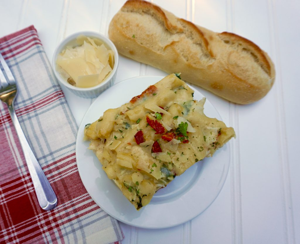 Tuscan Chicken Baked Ziti