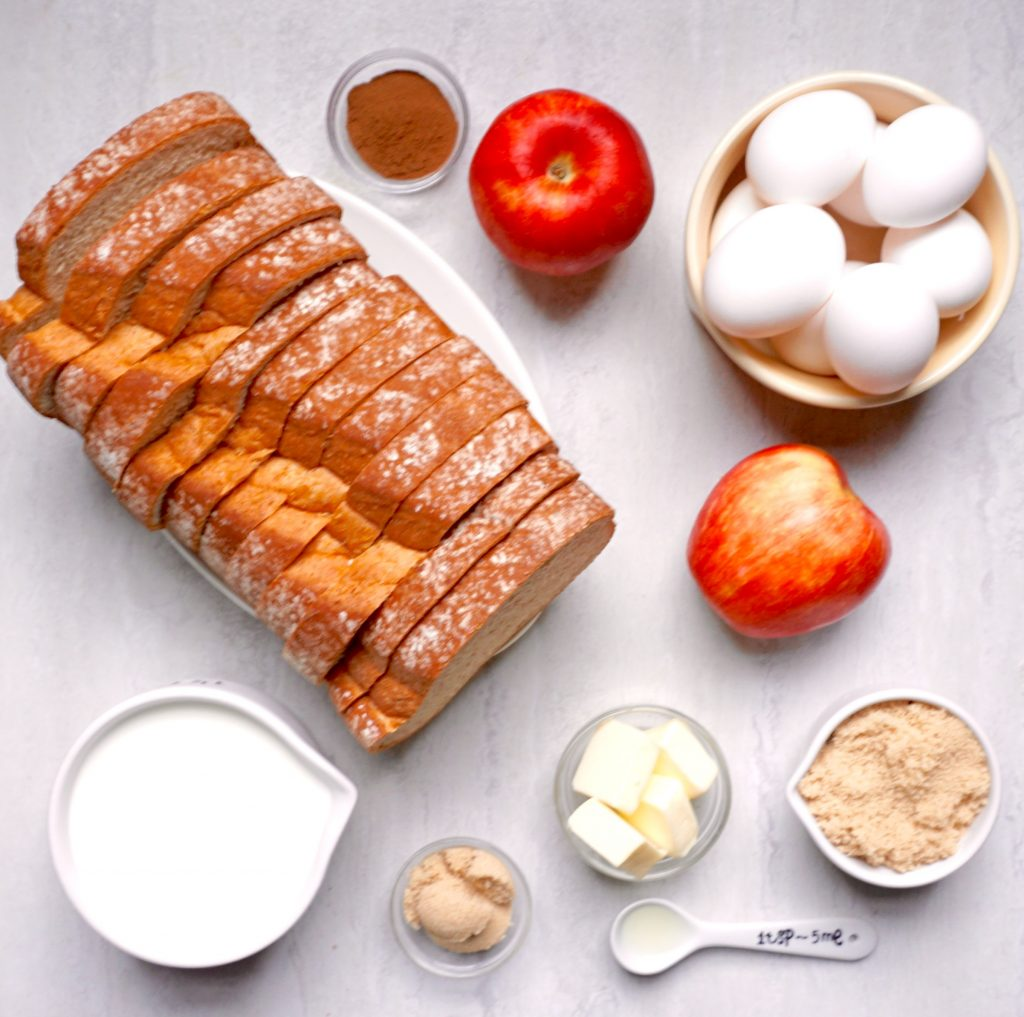 Apple Cinnamon Overnight French Toast