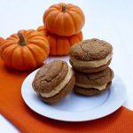 Pumpkin Creme Sandwich Cookies