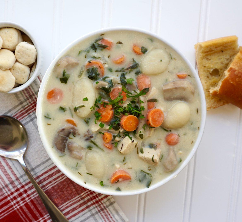 Turkey Gnocchi Soup