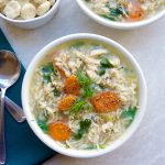 Chicken Brown Rice Soup