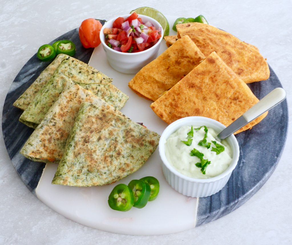 Loaded Chicken Quesadilla