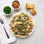 Chicken Marsala Pappardelle