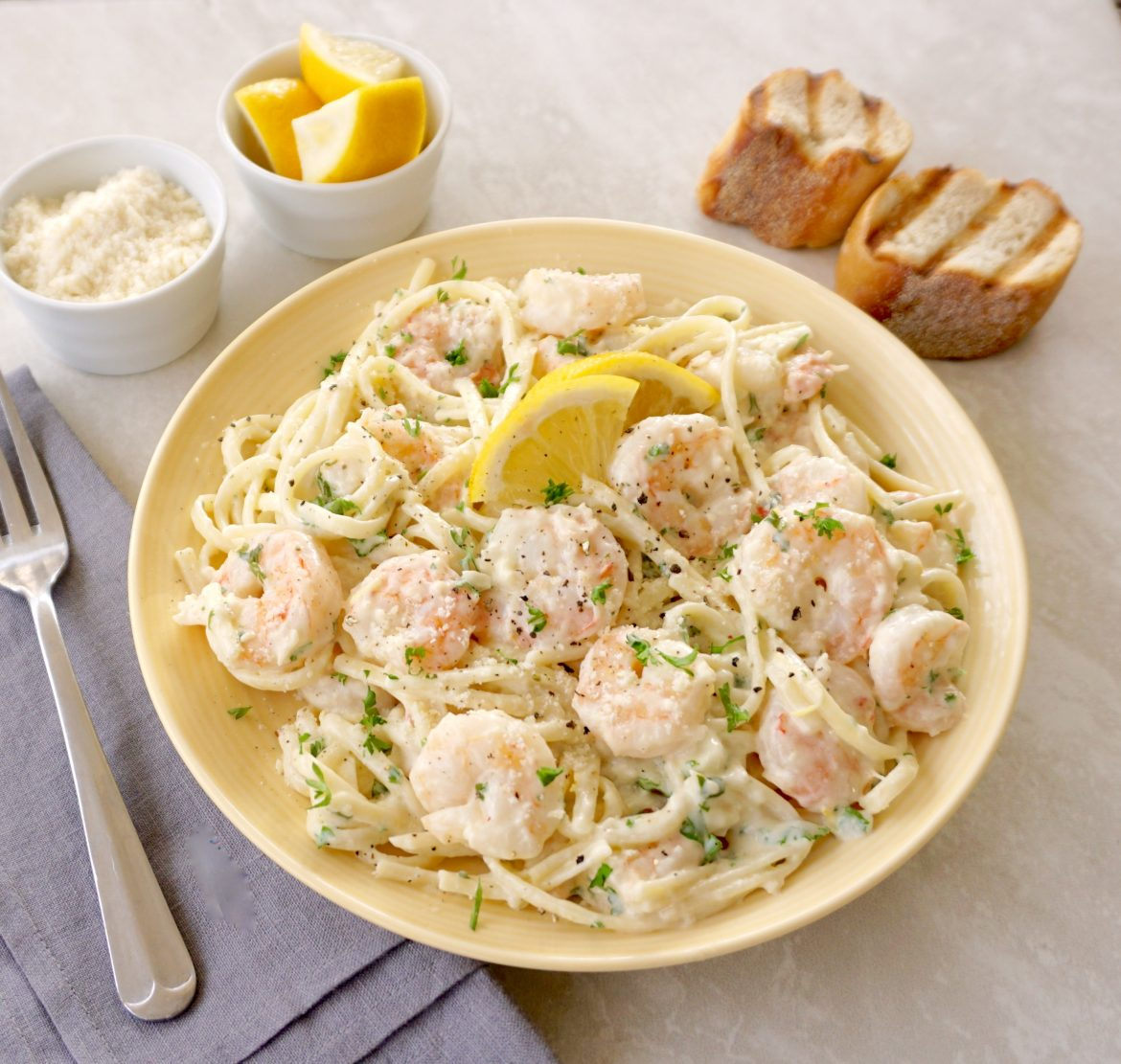 Creamy Lemon Shrimp