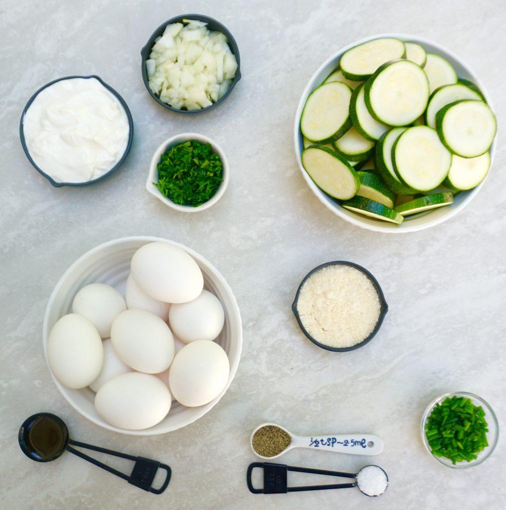 Zucchini Herb Frittata