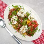 Heirloom Tomato Burrata Salad