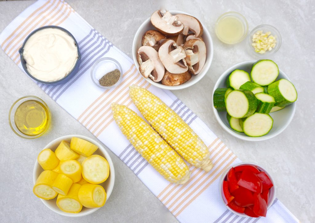 Aioli Grilled Vegetables