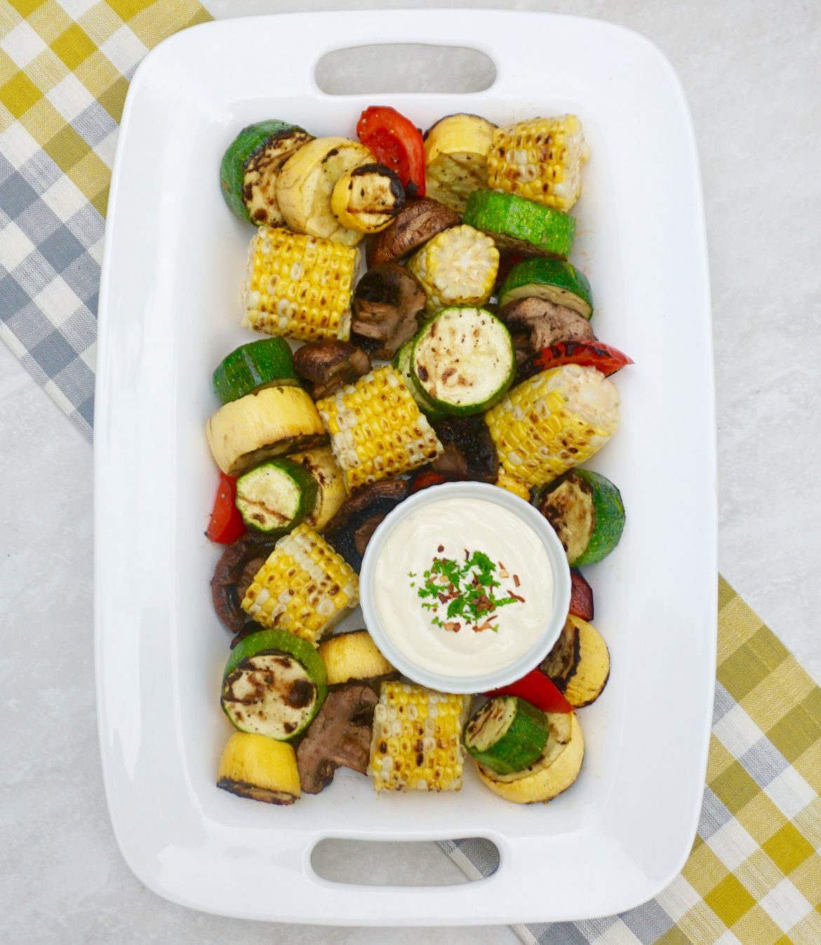 Aioli Grilled Vegetables