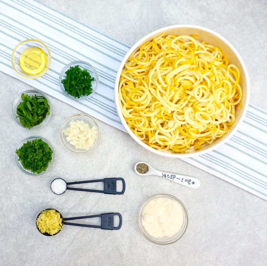 Summer Squash Noodles