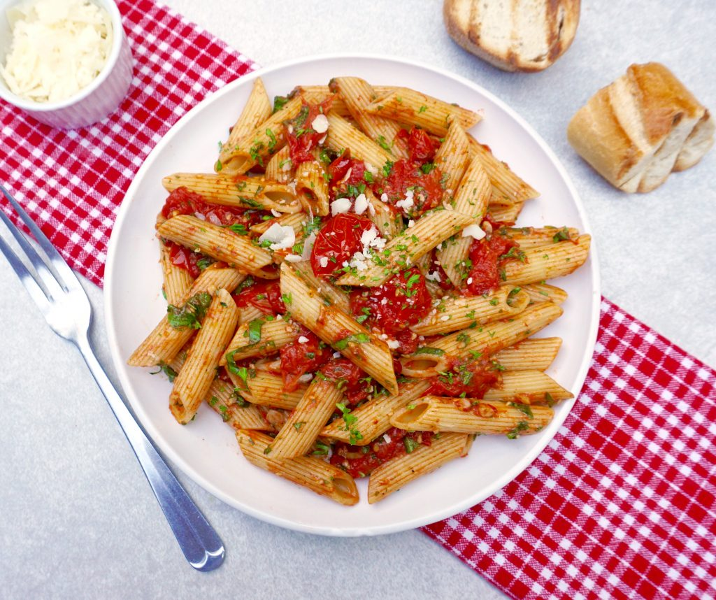 Roasted Cherry Tomato Penne