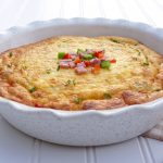 Western Crustless Quiche