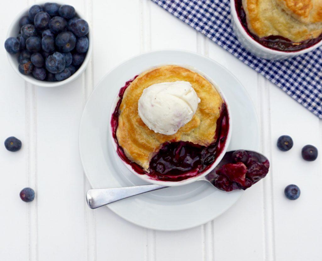 Blueberry Pot Pie