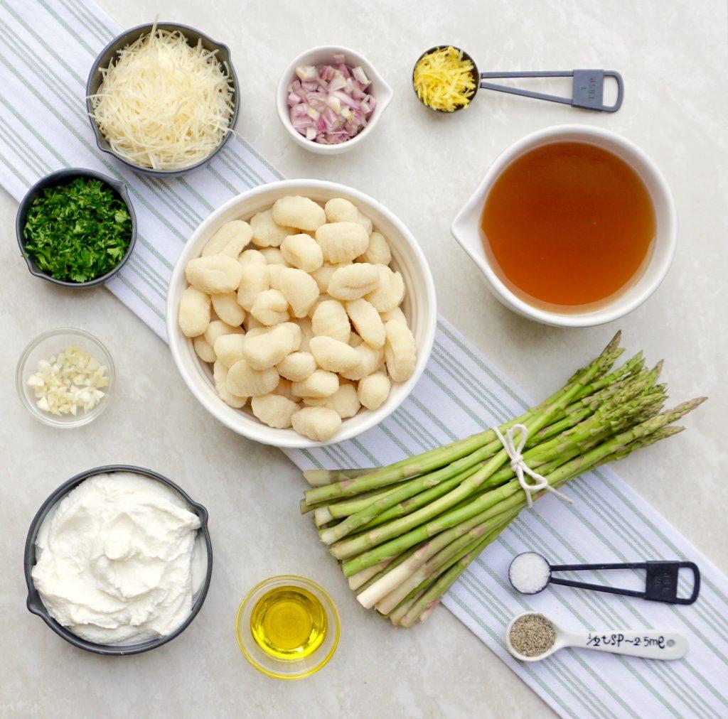 One Pot Asparagus Gnocchi