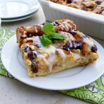 Mint Julep Bread Pudding