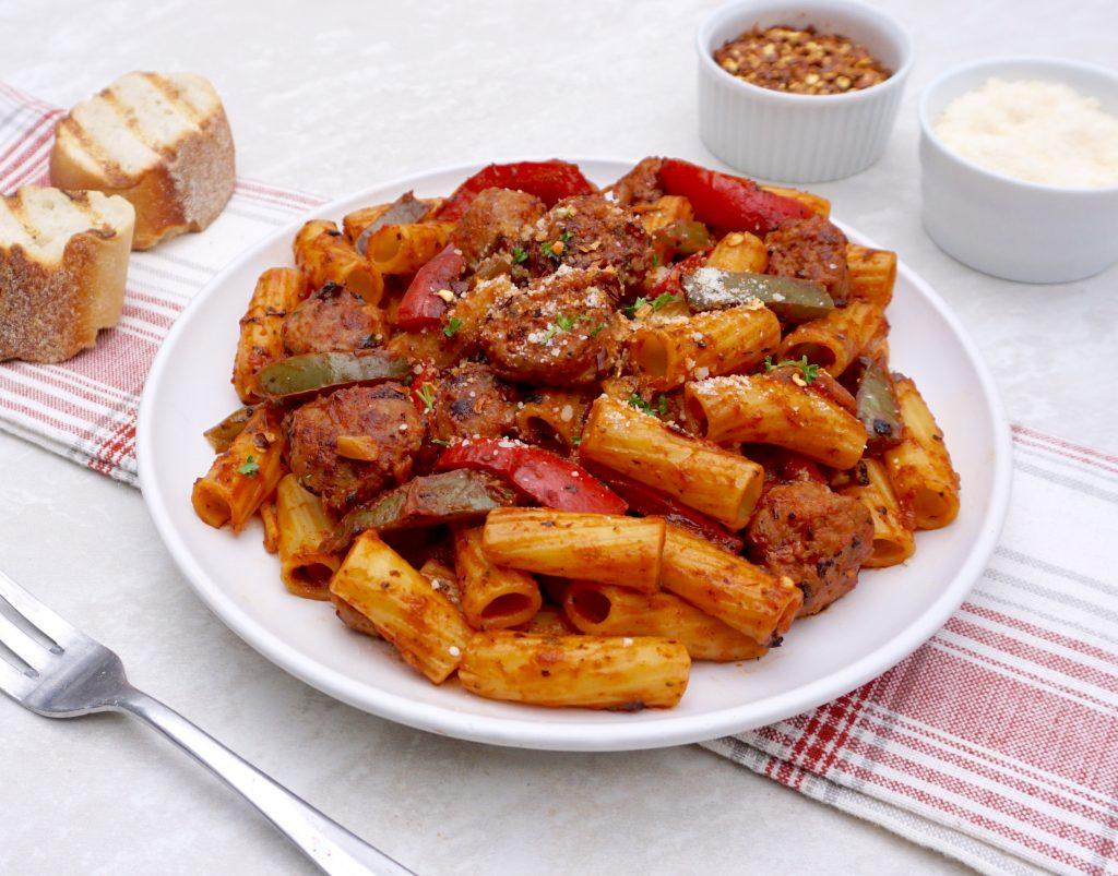 Sausage Pepper Rigatoni