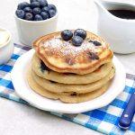 Blueberry Cinnamon Pancakes