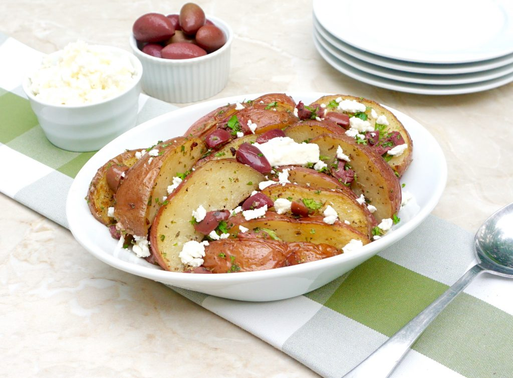 Roasted Red Greek Potatoes