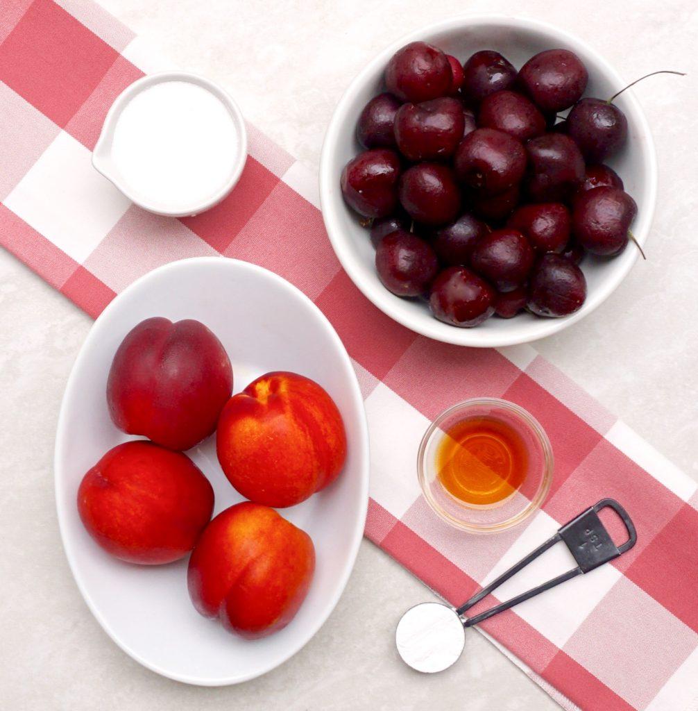 Cherry Nectarine Compote