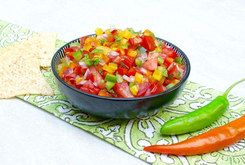 Bell Pepper Salsa