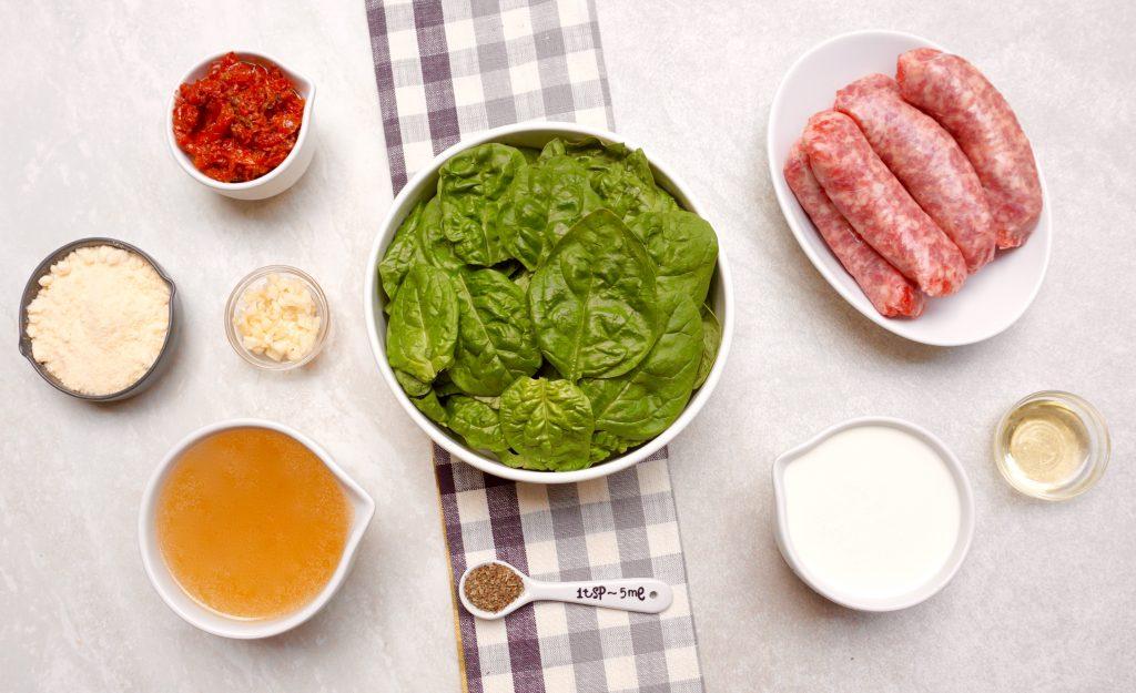 Tuscan Sausage Soup