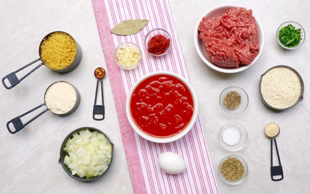 Spaghetti Meatball Soup
