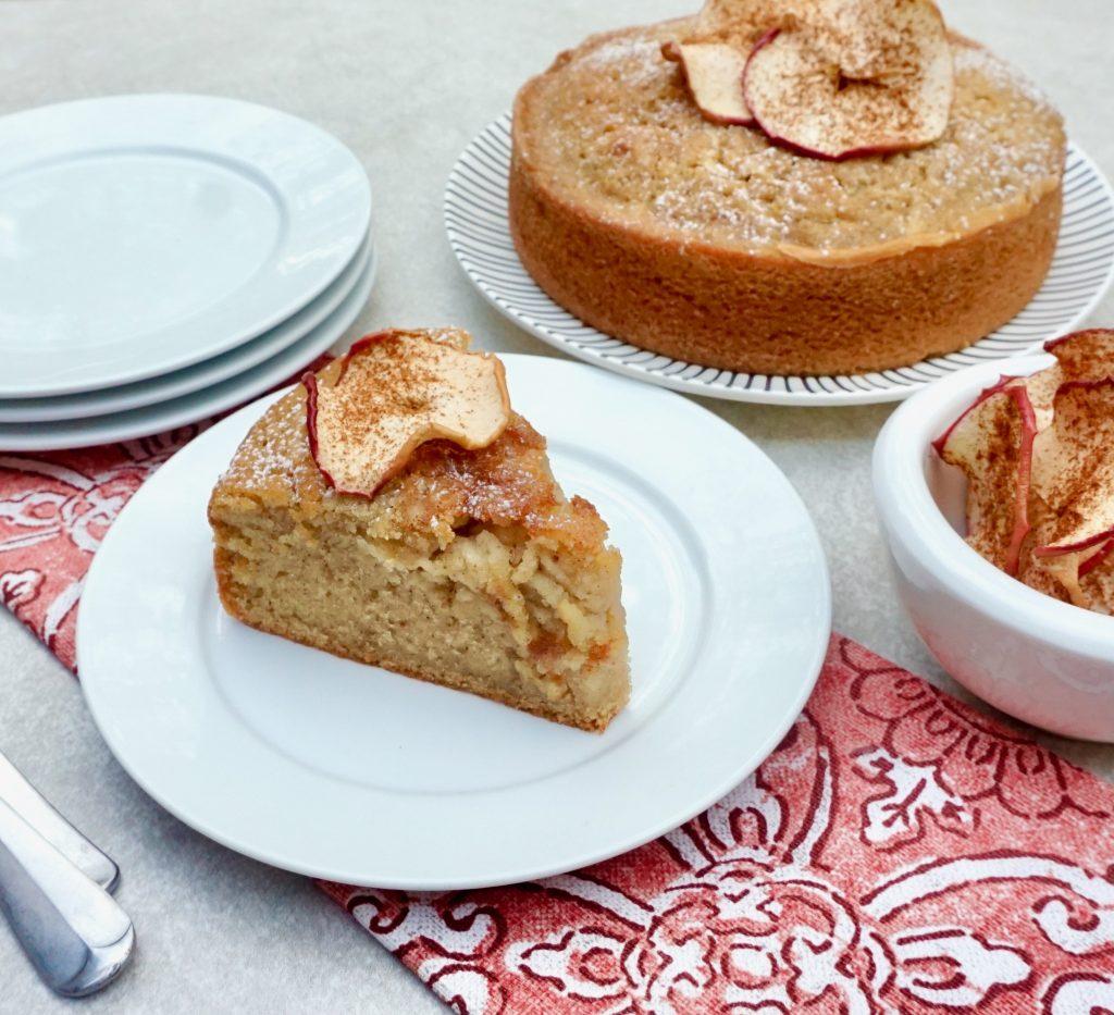 Apple Cinnamon Olive Oil Cake