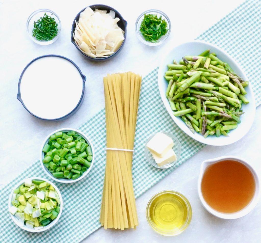 Green Vegetable Pasta Primavera