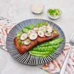 Asian Salad Salmon