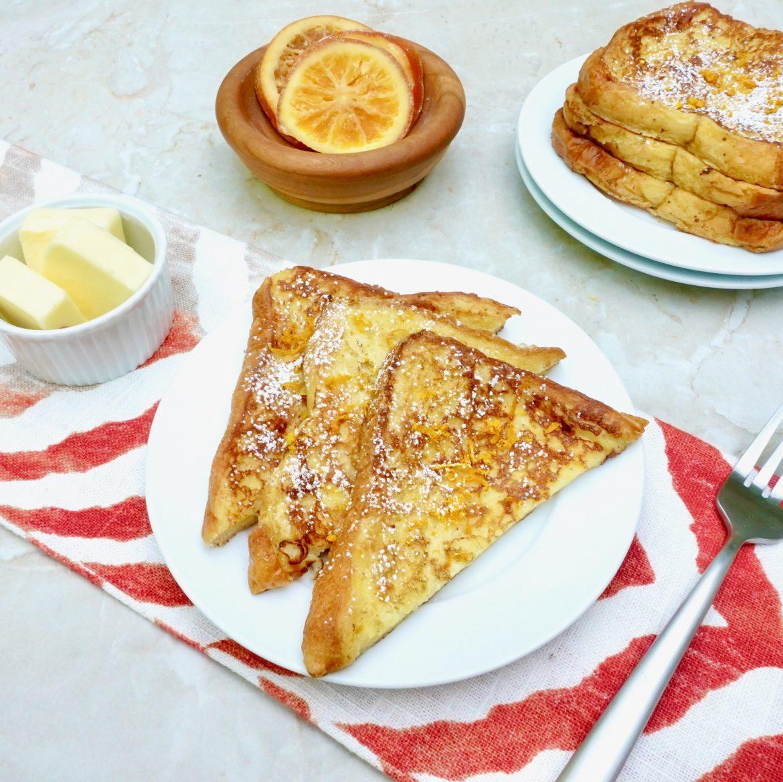 Orange Brioche French Toast