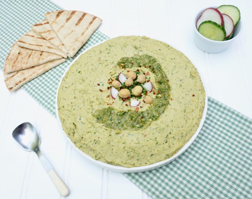 Chimichurri Hummus