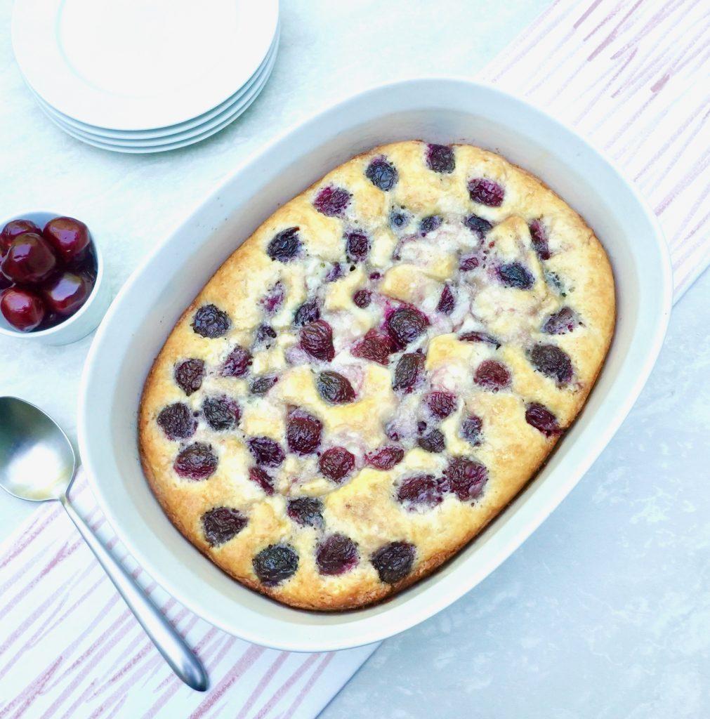 Cherry Cobbler Cake