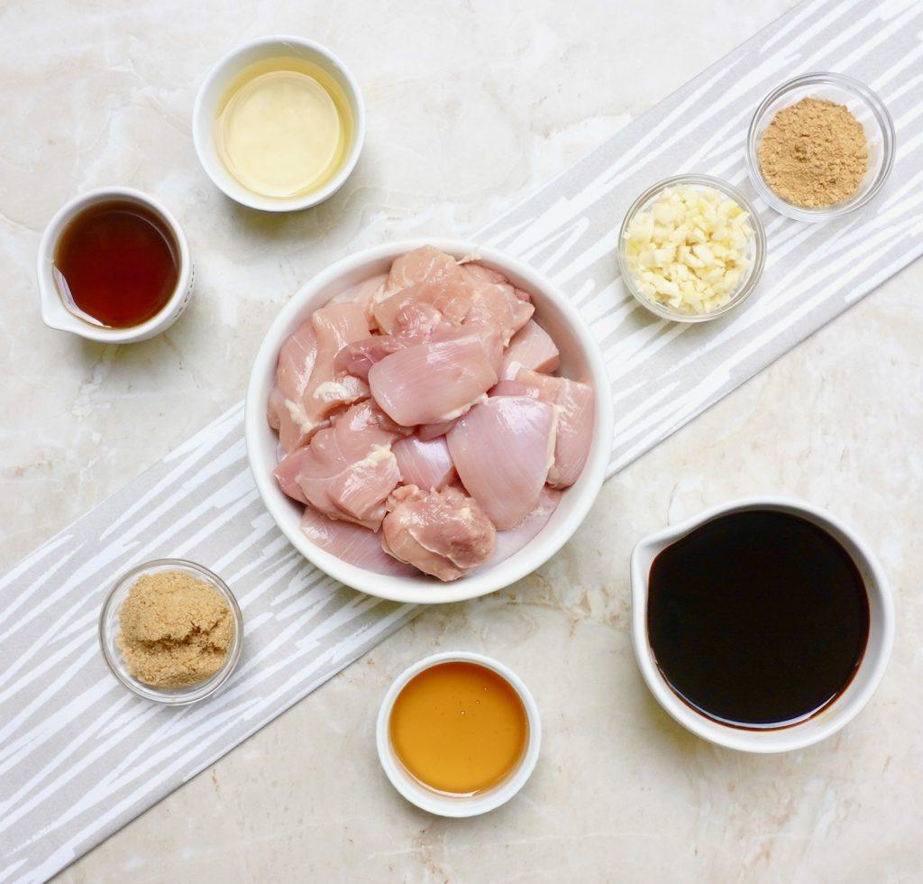Honey Teriyaki Chicken Kabobs